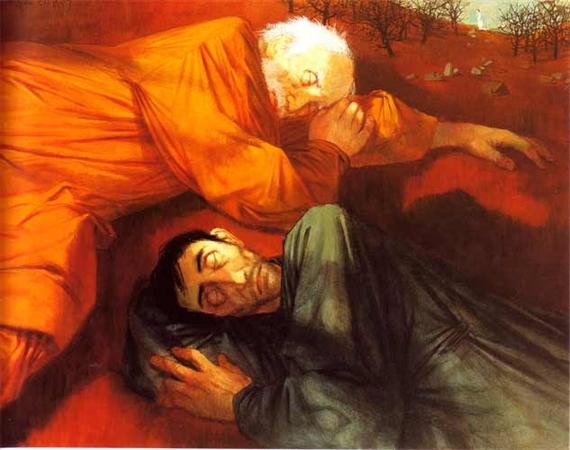 Le sommeil des Apôtres