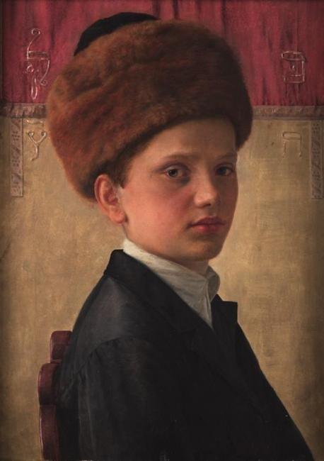 isidor_kaufmann_portrait_of_a_yeshiva_boy