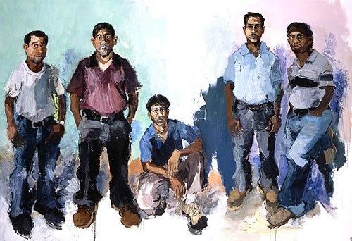 luis-nelson-adolfo-geovani-ramiro-2005-oil-on-canvas